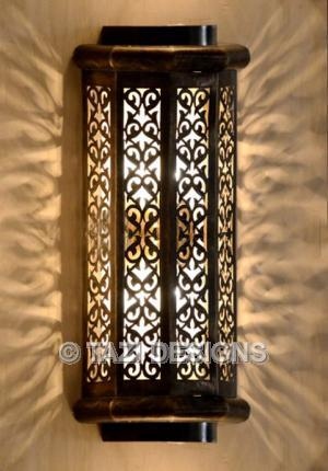 Indoor Outdoor Wall Sconce, Vine : Moroccan Lamps & Lanterns