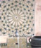 MOSAIC TILE FOUNTAIN