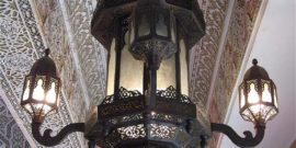 Large Moroccan Fixture