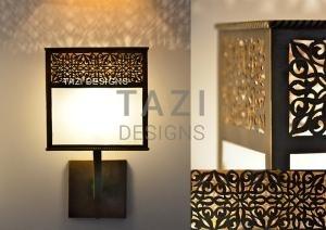 Moorish Wall Light – Veronica Glass Fixture