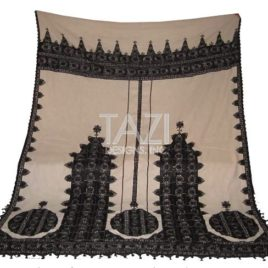 Moroccan Bedding Embroidery Throw