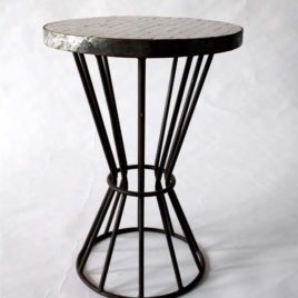 Moroccan Mosaic Side Table, 16″ Diameter