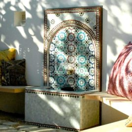 California Moroccan Mosaic Fountain