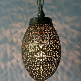 Moroccan Pendant Light Small Grape