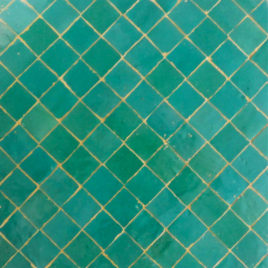 Light Green Moroccan Mosaic Tile