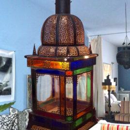 Large Moroccan Lantern 44″