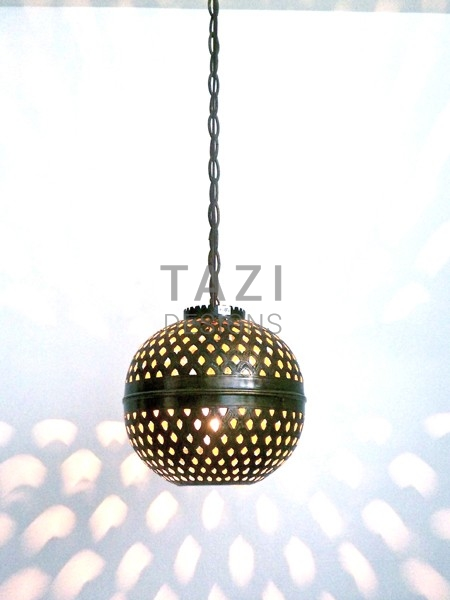 Round Pendant Light 9 Tazi Designs