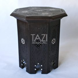 Syrian Bone – Inlay Octagonal Dark Side Table