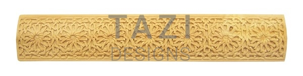 Moroccan woodwork, carved wood trim (4410)