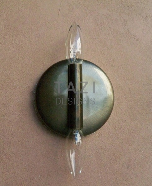 Wall Sconce Lamp Kit : Wall Light Kit For Sconce Two Bulbs Tazi Designs