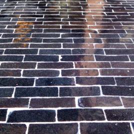 Moroccan Mosaic Backsplash – Dark Brown