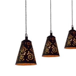 Rustic Metal Bar Pendant Lights