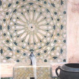 Mosaic Tile Fountain
