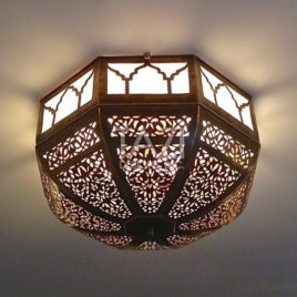 Moroccan Ceiling Lamp – Dome