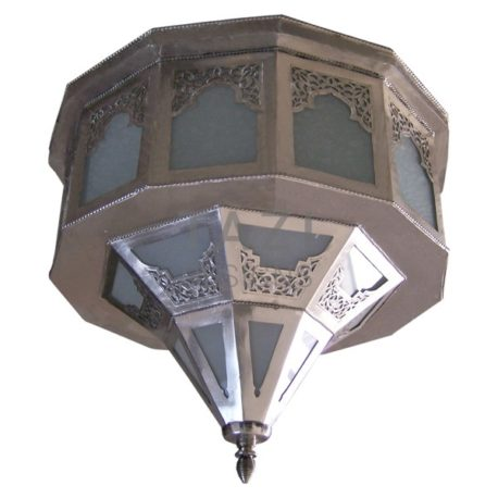 Moroccan Silver Ceiling Lamp