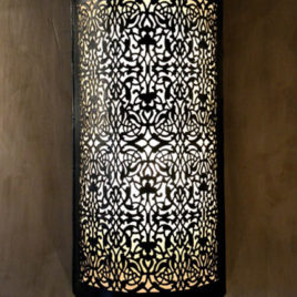 Brass Wall Sconce Medina Hotel