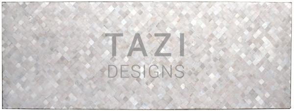 Rectangular Patio Table – Pearl White (90″ x 32″)