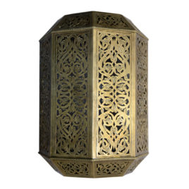 Moorish Brass Wall Sconce