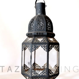 Moroccan Outdoor Lantern for Candle 020