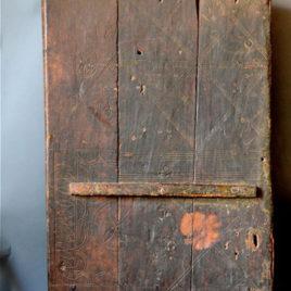 Vintage Sahara door
