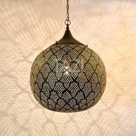 Moroccan Modern Sphere Light – Azhar