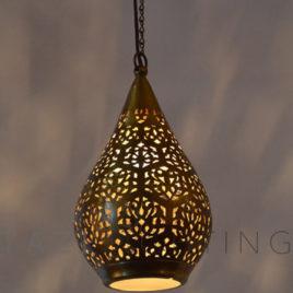 Contemporary Moroccan Pendant Light, Linna