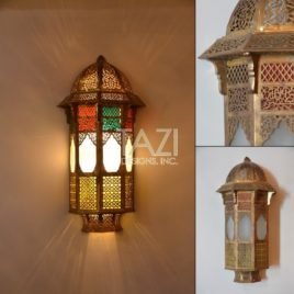 Vintage Moroccan Wall Sconce 001