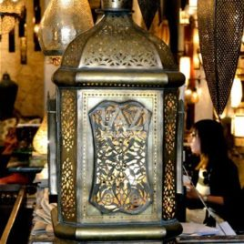 Unique Vintage Moroccan Lantern