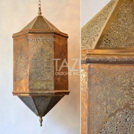 Gorgeous Vintage Moroccan Hanging Lamp