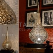 Moroccan Table Lamp - Flame