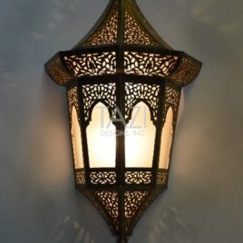 Vintage Moroccan Wall Sconce 004