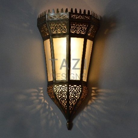 Vintage Moroccan Wall Sconce 005
