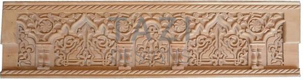 Moorish Design Custom Carved Wood 2