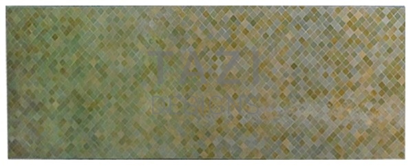Moroccan Mosaic Tile Table – Olive/Beige