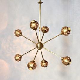 Contemporary ceiling fixture – Satellite