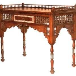 Syrian Wood-Inlay Desk