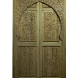 Moroccan Cedar Carved Door