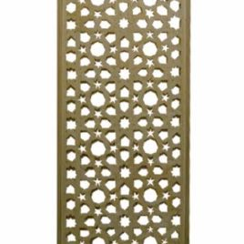Arabesque Cedar Lattice Screen