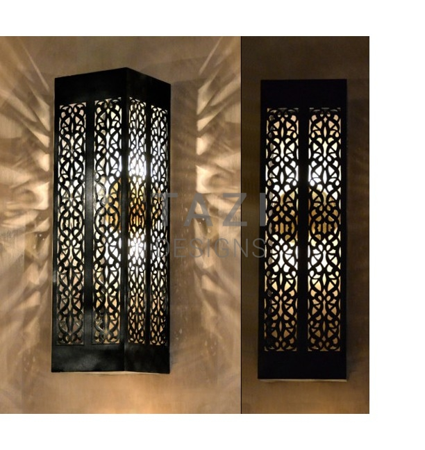 Wall Sconces With Vines : Indoor Outdoor Wall Sconce, Vine 2 Tazi Designs