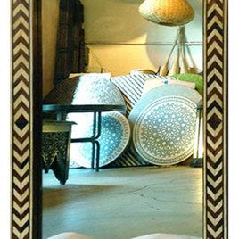Moroccan Herringbone Mirror