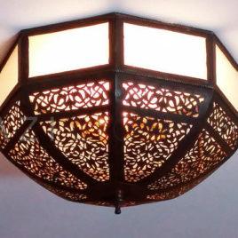 Filigree Ceiling Fixture Light