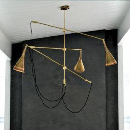 Contemporary Chandelier – Trois