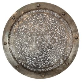 Moroccan Ceiling Light, Dish Nickle 40