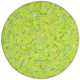 Round Dining Table – Lime Green