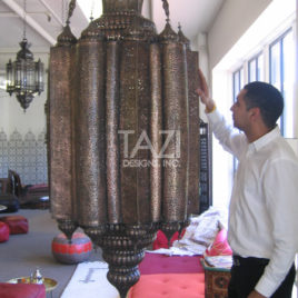 Moroccan Lamp – Sultan (BrL072)