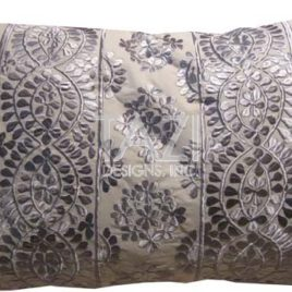 Moroccan Pillow – 30 Silver