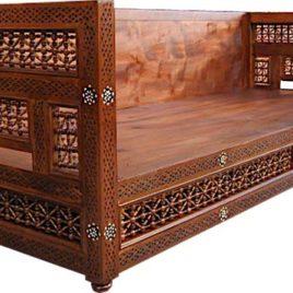 Sofa Platfom – Syrian-Style Carving