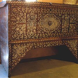 Trunk – Syrian Antique Mother-of-Pearls