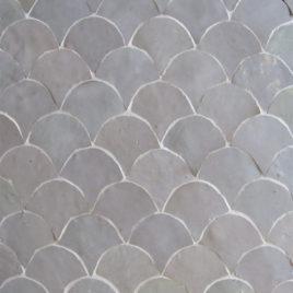 Moroccan Mosaic Back-Splash – Fish Scale
