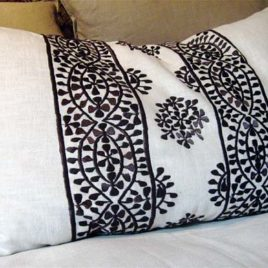 Moroccan Pillow – Dark Brown